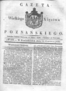 Gazeta Wielkiego Xięstwa Poznańskiego 1836.06.13 Nr135