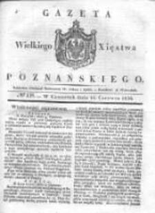 Gazeta Wielkiego Xięstwa Poznańskiego 1836.06.16 Nr138