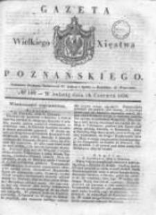 Gazeta Wielkiego Xięstwa Poznańskiego 1836.06.18 Nr140
