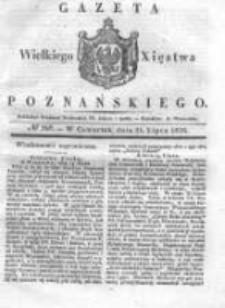 Gazeta Wielkiego Xięstwa Poznańskiego 1836.07.21 Nr168