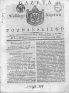 Gazeta Wielkiego Xięstwa Poznańskiego 1832.01.02 Nr1