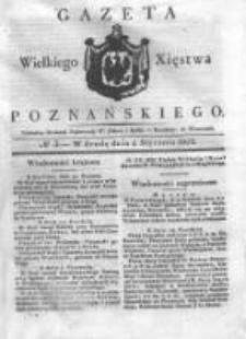 Gazeta Wielkiego Xięstwa Poznańskiego 1832.01.04 Nr3