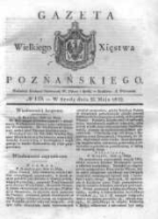 Gazeta Wielkiego Xięstwa Poznańskiego 1832.05.23 Nr119