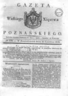 Gazeta Wielkiego Xięstwa Poznańskiego 1832.06.18 Nr139