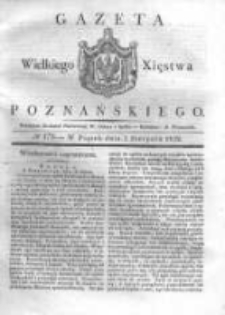 Gazeta Wielkiego Xięstwa Poznańskiego 1832.08.03 Nr179