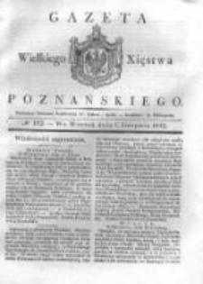 Gazeta Wielkiego Xięstwa Poznańskiego 1832.08.07 Nr182