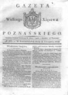 Gazeta Wielkiego Xięstwa Poznańskiego 1832.08.13 Nr187