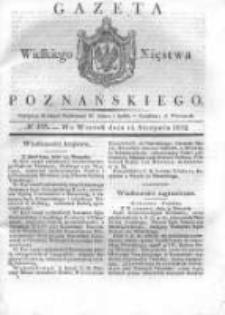 Gazeta Wielkiego Xięstwa Poznańskiego 1832.08.14 Nr188