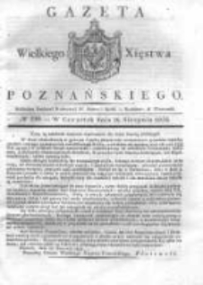 Gazeta Wielkiego Xięstwa Poznańskiego 1832.08.16 Nr190