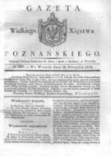 Gazeta Wielkiego Xięstwa Poznańskiego 1832.08.28 Nr200