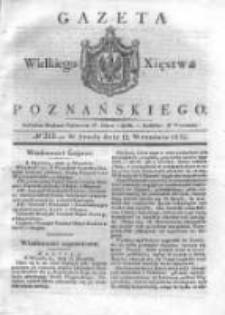 Gazeta Wielkiego Xięstwa Poznańskiego 1832.09.12 Nr213