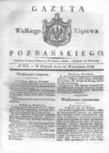 Gazeta Wielkiego Xięstwa Poznańskiego 1832.09.14 Nr215