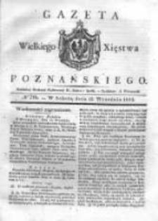 Gazeta Wielkiego Xięstwa Poznańskiego 1832.09.15 Nr216