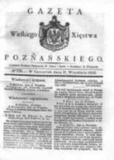 Gazeta Wielkiego Xięstwa Poznańskiego 1832.09.27 Nr226
