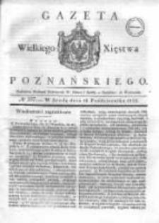 Gazeta Wielkiego Xięstwa Poznańskiego 1832.10.10 Nr237