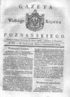 Gazeta Wielkiego Xięstwa Poznańskiego 1832.11.01 Nr256