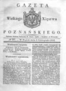 Gazeta Wielkiego Xięstwa Poznańskiego 1832.11.02 Nr257