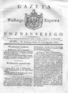 Gazeta Wielkiego Xięstwa Poznańskiego 1832.11.17 Nr270
