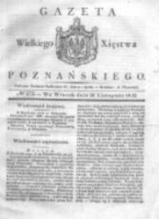 Gazeta Wielkiego Xięstwa Poznańskiego 1832.11.20 Nr272