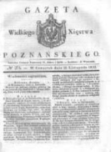 Gazeta Wielkiego Xięstwa Poznańskiego 1832.11.22 Nr274