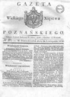 Gazeta Wielkiego Xięstwa Poznańskiego 1832.11.26 Nr277