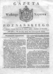 Gazeta Wielkiego Xięstwa Poznańskiego 1832.11.28 Nr279