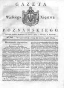 Gazeta Wielkiego Xięstwa Poznańskiego 1832.11.29 Nr280