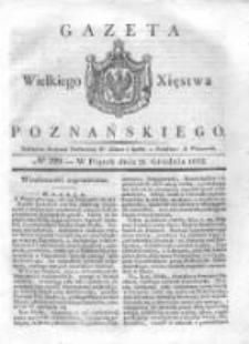 Gazeta Wielkiego Xięstwa Poznańskiego 1832.12.21 Nr299
