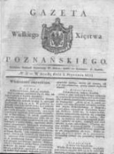 Gazeta Wielkiego Xięstwa Poznańskiego 1831.01.05 Nr3