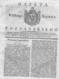 Gazeta Wielkiego Xięstwa Poznańskiego 1831.01.07 Nr5