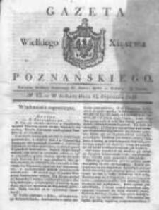 Gazeta Wielkiego Xięstwa Poznańskiego 1831.01.15 Nr12