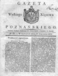 Gazeta Wielkiego Xięstwa Poznańskiego 1831.01.27 Nr22