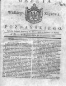 Gazeta Wielkiego Xięstwa Poznańskiego 1831.01.28 Nr23