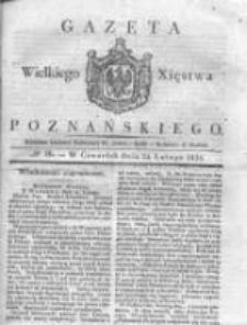 Gazeta Wielkiego Xięstwa Poznańskiego 1831.02.24 Nr46