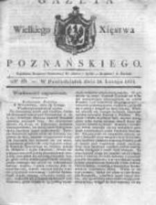 Gazeta Wielkiego Xięstwa Poznańskiego 1831.02.28 Nr49