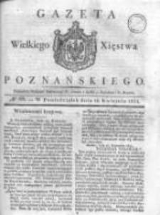 Gazeta Wielkiego Xięstwa Poznańskiego 1831.04.18 Nr88