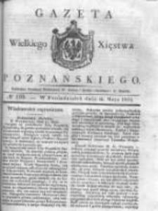 Gazeta Wielkiego Xięstwa Poznańskiego 1831.05.16 Nr110
