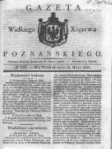 Gazeta Wielkiego Xięstwa Poznańskiego 1831.05.31 Nr122