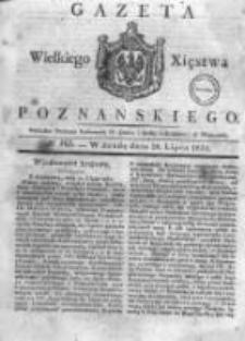 Gazeta Wielkiego Xięstwa Poznańskiego 1831.07.20 Nr165