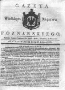 Gazeta Wielkiego Xięstwa Poznańskiego 1831.07.27 Nr171