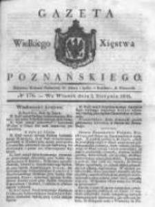 Gazeta Wielkiego Xięstwa Poznańskiego 1831.08.02 Nr176
