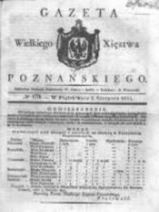 Gazeta Wielkiego Xięstwa Poznańskiego 1831.08.05 Nr179