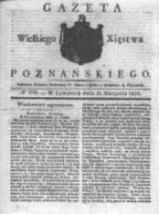 Gazeta Wielkiego Xięstwa Poznańskiego 1831.08.11 Nr184