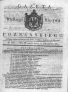 Gazeta Wielkiego Xięstwa Poznańskiego 1831.08.16 Nr188