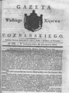 Gazeta Wielkiego Xięstwa Poznańskiego 1831.08.20 Nr192