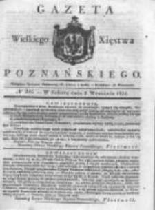 Gazeta Wielkiego Xięstwa Poznańskiego 1831.09.03 Nr204