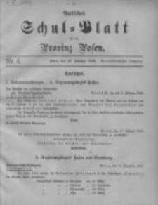 Amtliches Schul-Blatt für die Provinz Posen 1906.02.20 Jg.39 Nr4