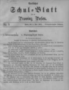 Amtliches Schul-Blatt für die Provinz Posen 1906.05.05 Jg.39 Nr9