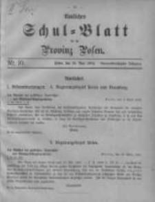 Amtliches Schul-Blatt für die Provinz Posen 1906.05.20 Jg.39 Nr10