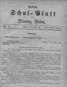 Amtliches Schul-Blatt für die Provinz Posen 1906.07.20 Jg.39 Nr14